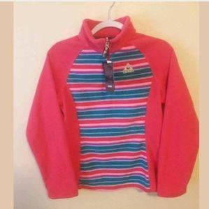 Gerry Girls Striped Fleece Pullover Size XL